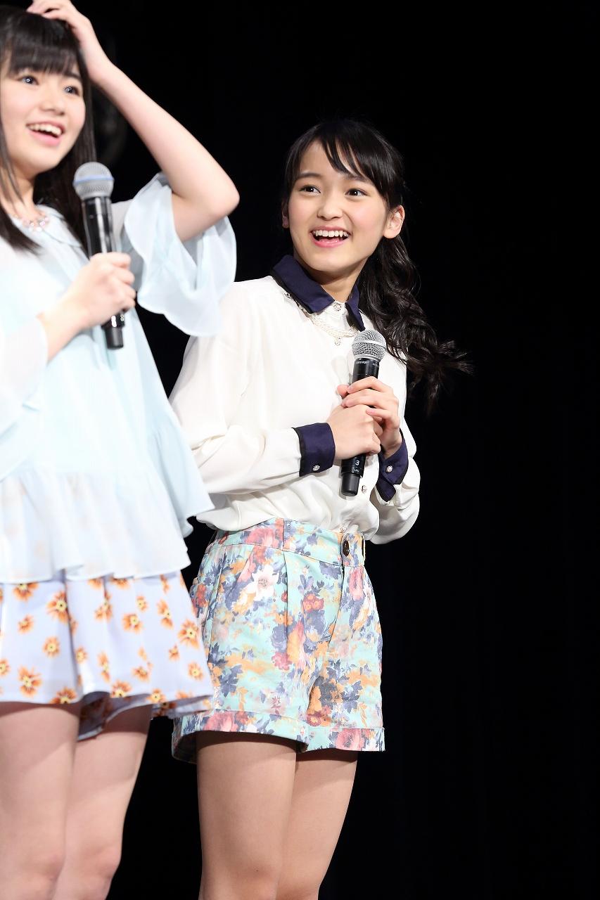 野村みな美(のむら・みなみ)東京都出身。高校1年。みんなのみなみな。マジティブアイドル