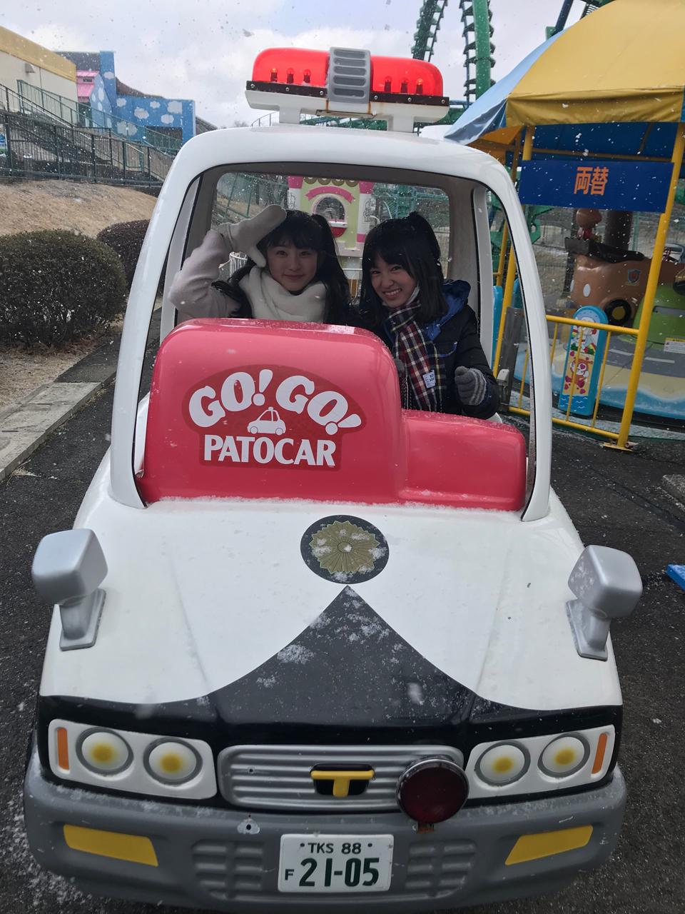 この二人もドライブ……いや、ドラ……まぁいいや。【GO!GO!PATOCAR】(さくら/蒼良)