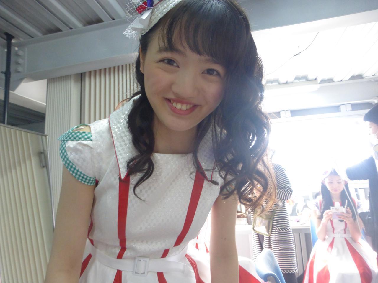 こちらは安定。笑顔の最年長・希山さん。(愛)