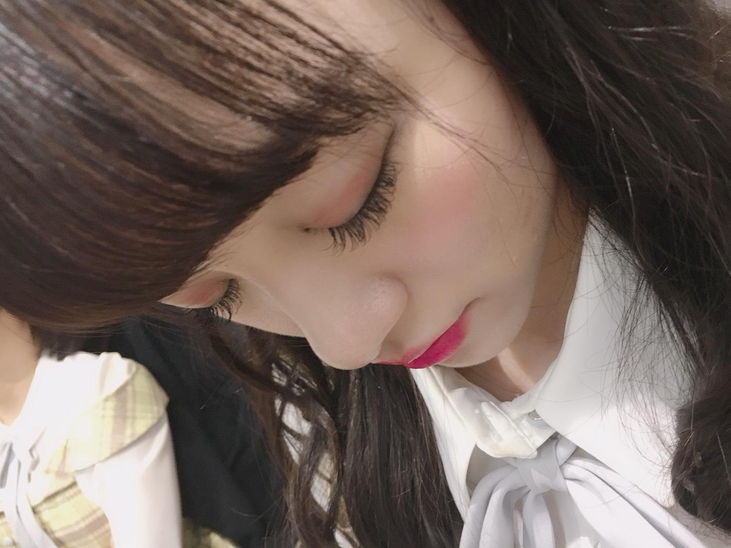 (1-3)りさちゃんも熟睡中……。まつげが長くてきれい!