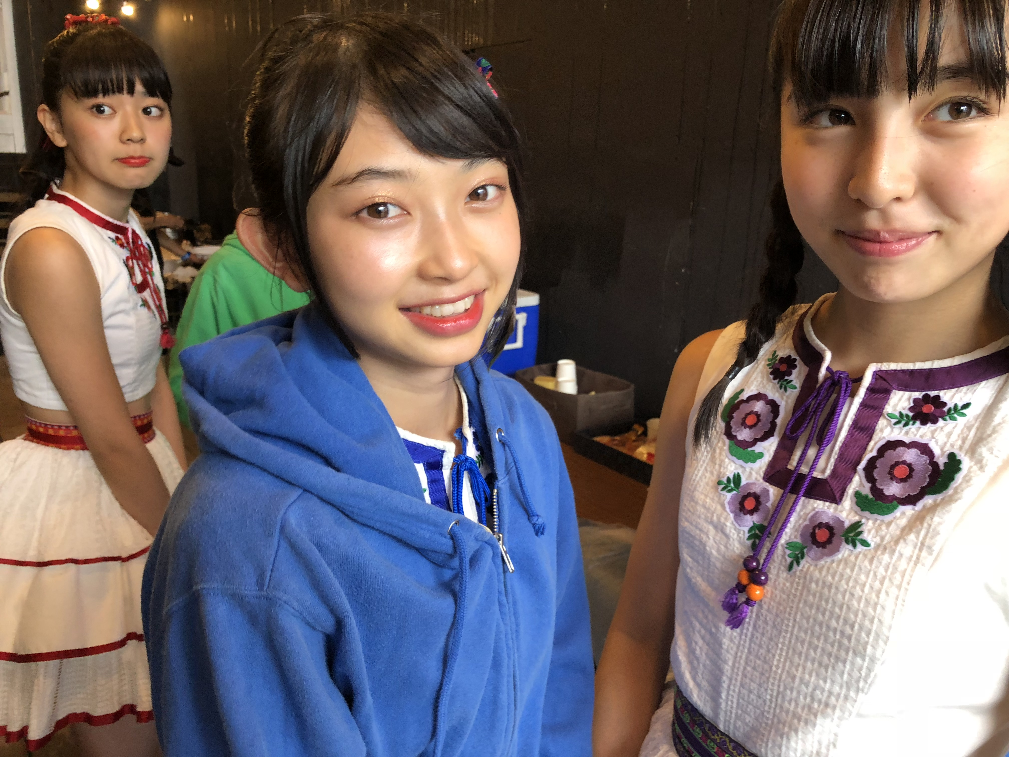 OTODAMA SEA STUDIO 2018出演直前のメンバー。