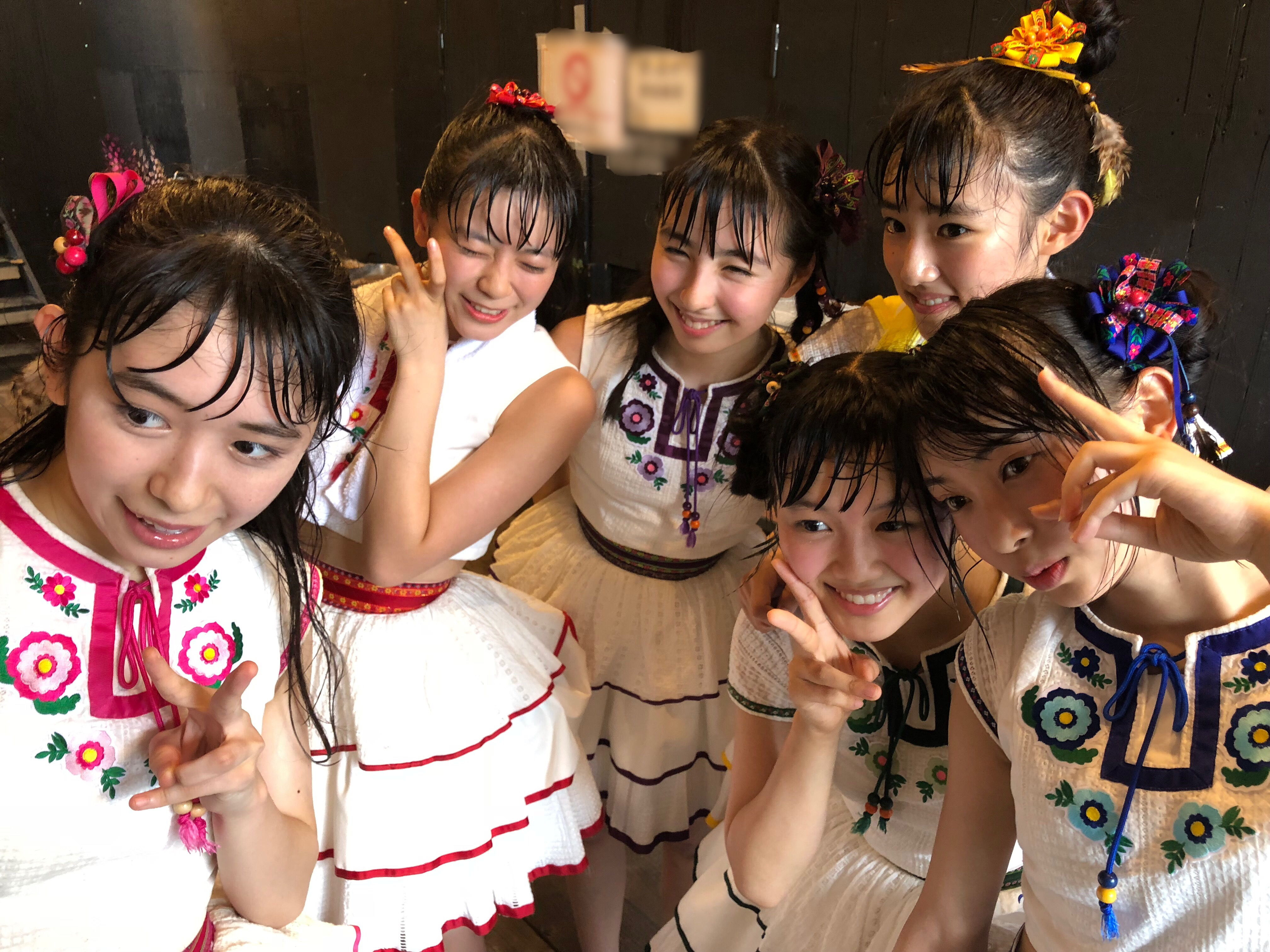 OTODAMA SEA STUDIO 2018出演直後のメンバー。