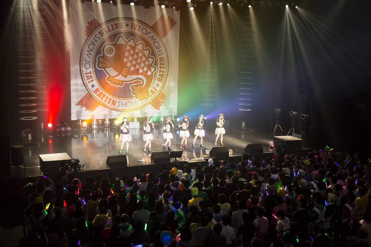 ZeppFukuokaでのライブ、盛り上がりました!!もう営業も終わっちゃいました。(ばってん少女隊とファンの皆さん)