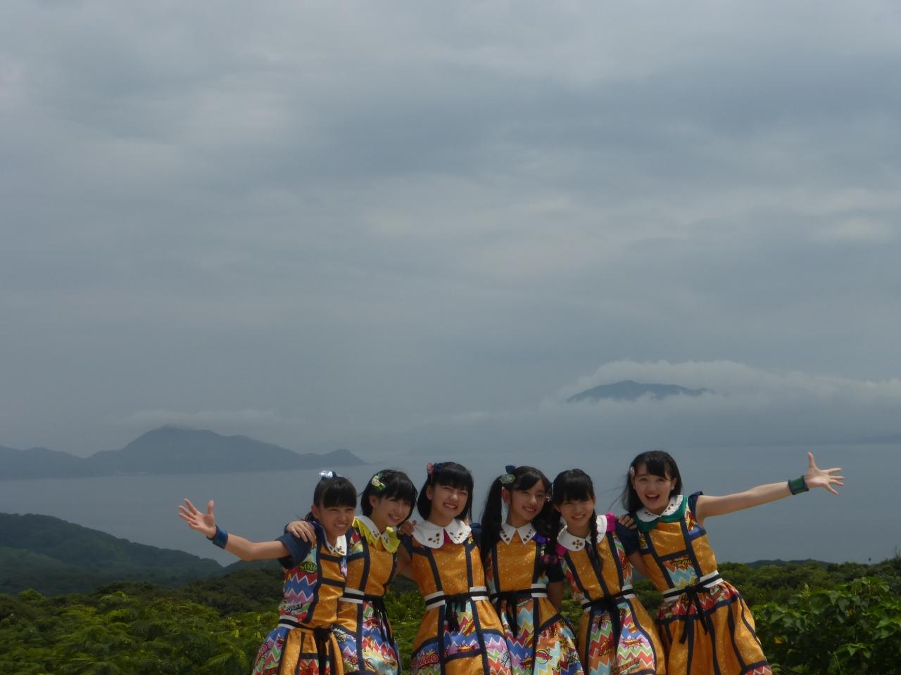 宗像市にて撮影、大島は良い所でした。(ばってん少女隊)