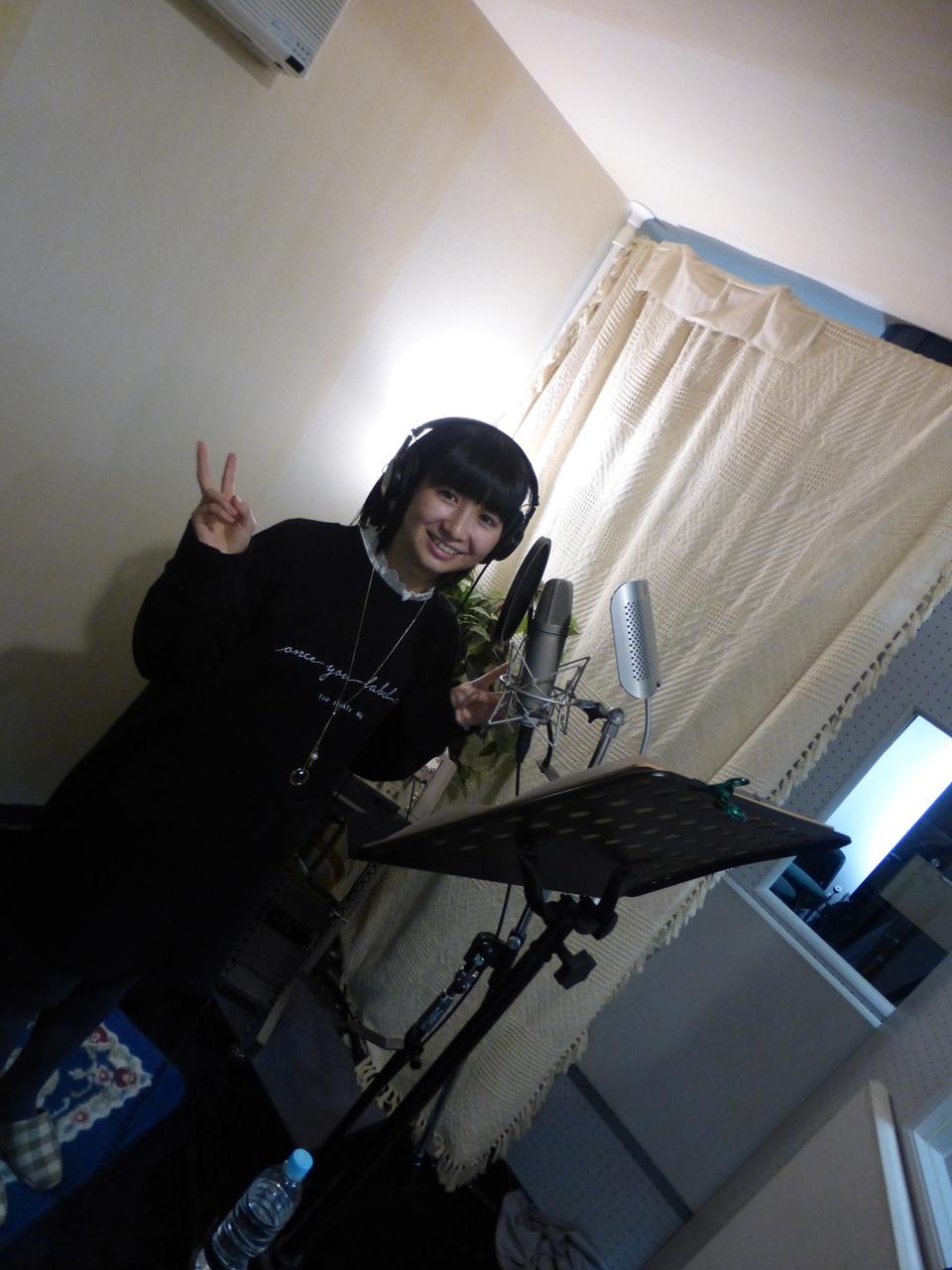 2018年最初のレコーディング!(きいな)