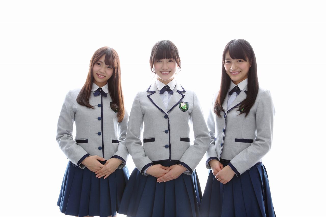 写真左から小林由依(こばやし・ゆい)、守屋茜(もりや・あかね)、織田奈那(おだ・なな)