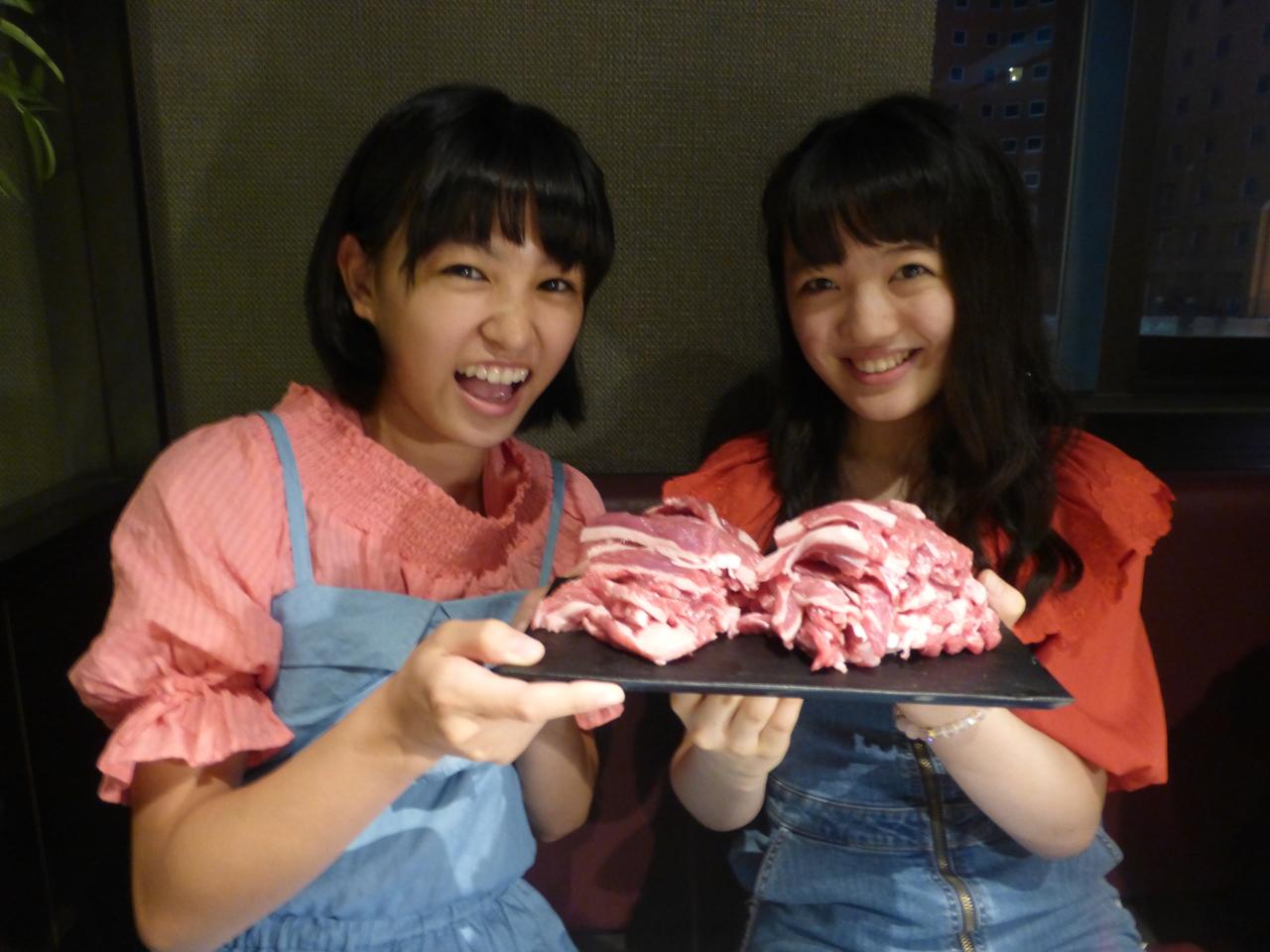 札幌キャンペーンではジンギスカンを頂きました。ウマシウマシ。(蒼良/愛)