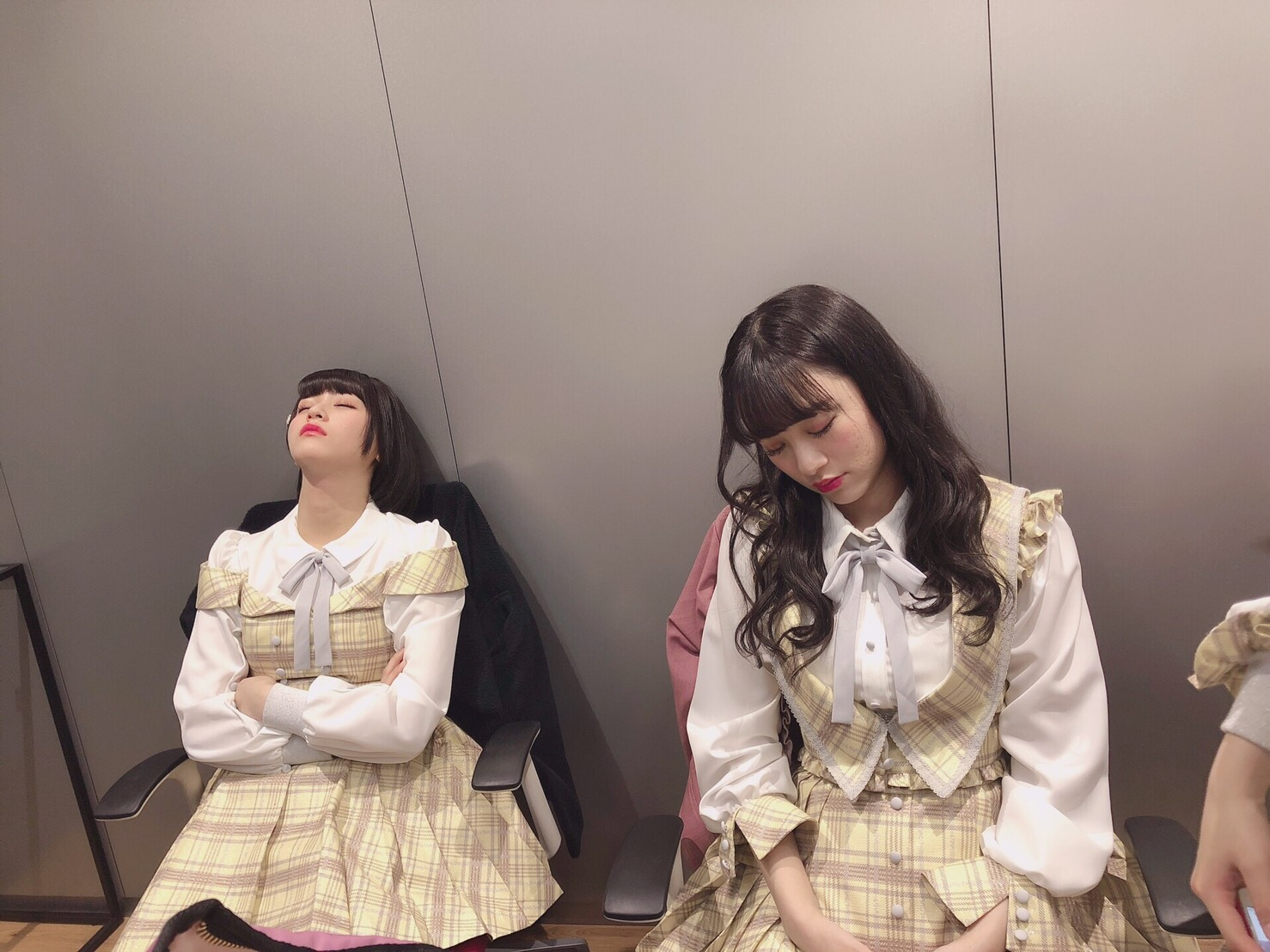 寝てる2人🌙